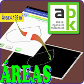 GPS. Surfaces. Areas. DXF