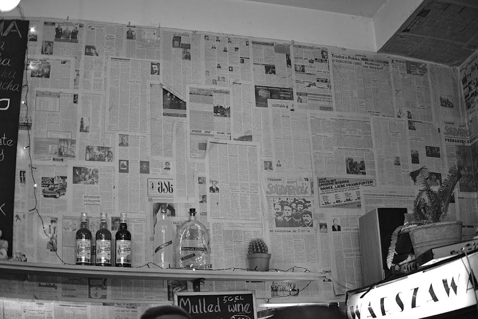Bar Warszawa w Tbilisi
