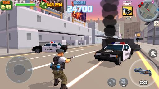 Gangster City- Open World Shooting Game 3D  captures d'écran 1