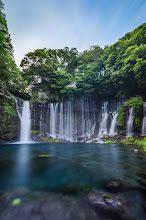 Photo: Movement of Shiraito  For me, this photo is a lesson in not trashing mistakes immediately. This photo of the lovely Shiraito Falls in Shizuoka Prefecture is made up of 3 different exposures. Unfortunately for me, all three were badly underexposed. But thanks to the power of RAW, Lightroom, and Photoshop, I was able to work those images into this final one. Of course, it's always better to get the shot right in camera, but I'm glad I was able to make the mistakes work for this. You can see the underexposed images I worked with at my blog post here:  http://lestaylorphoto.com/movement-of-shiraito-falls/  #japan #travel #waterfall