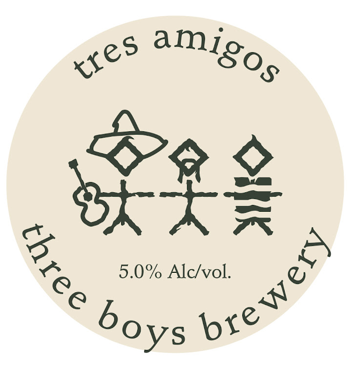 Logo of Three Boys Tres Amigos