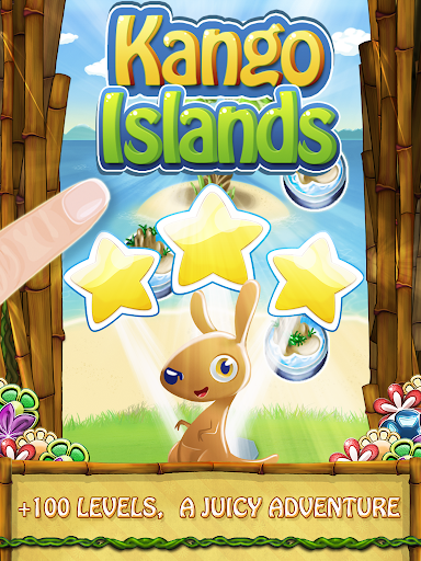 Kango Islands - Connect Garden Flowers Match 3 - screenshot