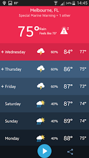 Weather Radio by WDT- screenshot thumbnail