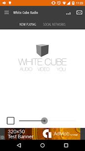 White Cube Radio screenshot