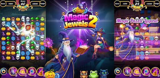 Magic Jewels 2: New Story Match 3 Games captures d'écran