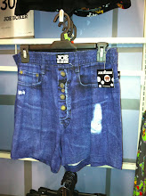 Photo: Look! Joe Boxers that look like jean shorts. Pretty sure my husband would NOT go for this.