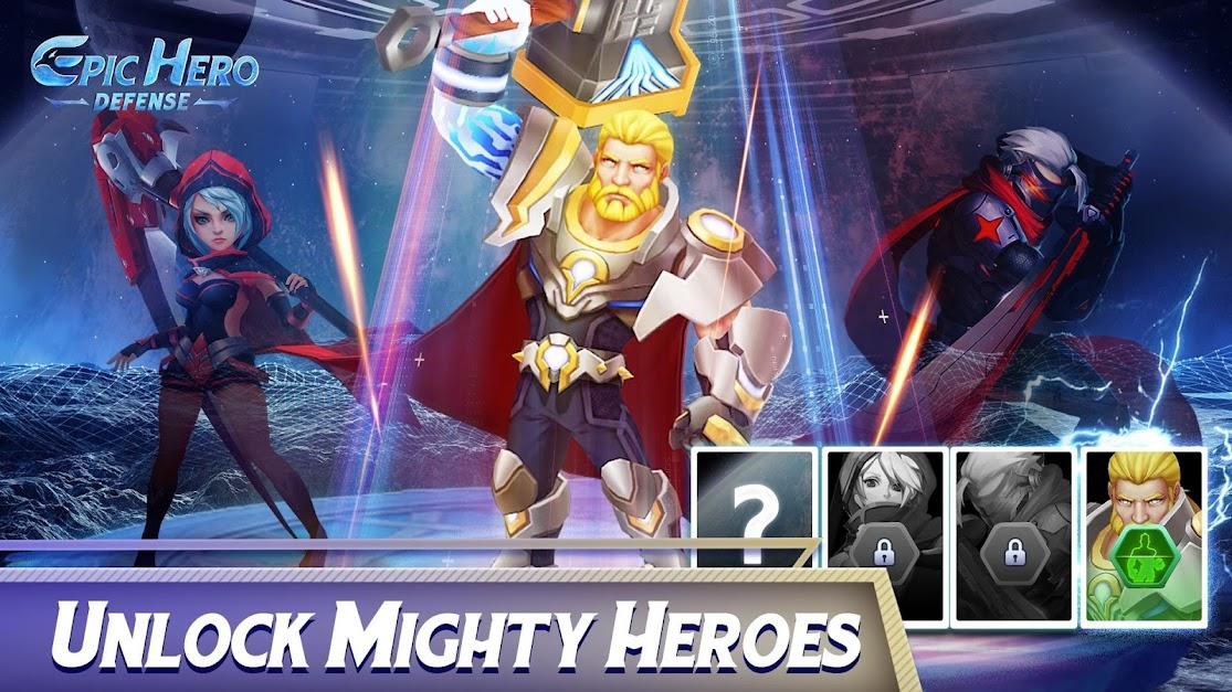 Epic Hero Defense poster