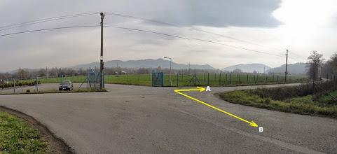 Photo: HODOŇOVICE - ROZCESTÍ 2 (A) - trasa směr Hodoňovice - centrum, Beskydy (B) - trasa směr F - M, Paskov