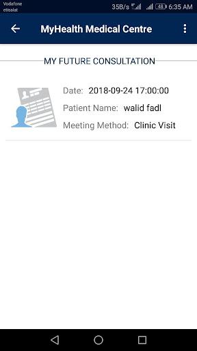 MyHealth Medical Centre screenshot 6