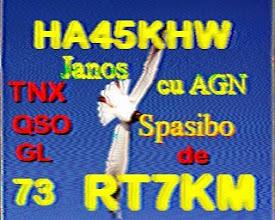 Photo: RT7KM