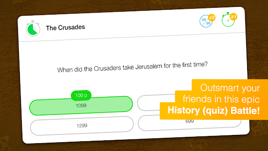Quiz Battle History- screenshot thumbnail