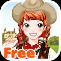 World Girl free icon