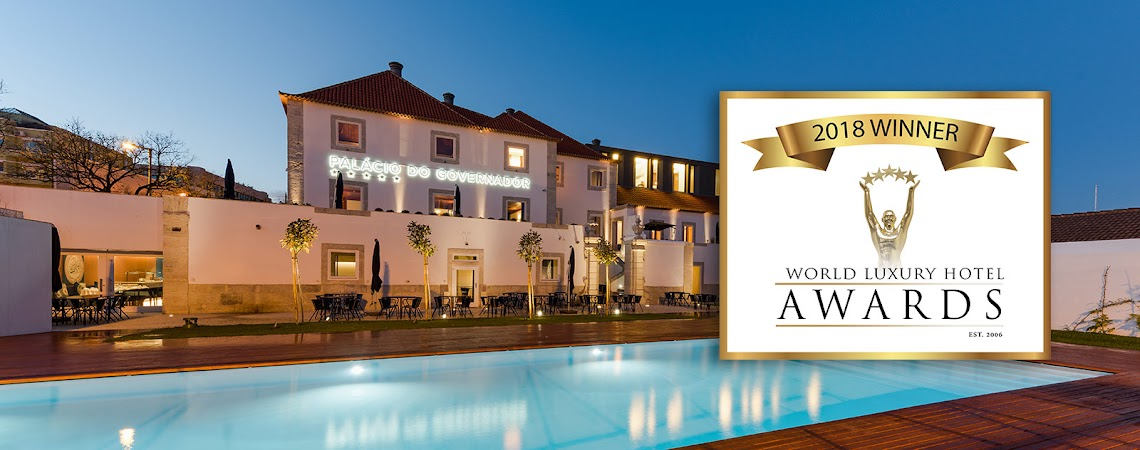 Palácio do Governador conquista estatueta dourada nos World Luxury Hotel Awards