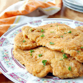 Breaded Italian Chicken Cutlets.