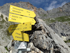 Photo: 2h (hours) to summit of Gehrenspitz. Hmmm, only took 90 minutes round trip, with rest on top.