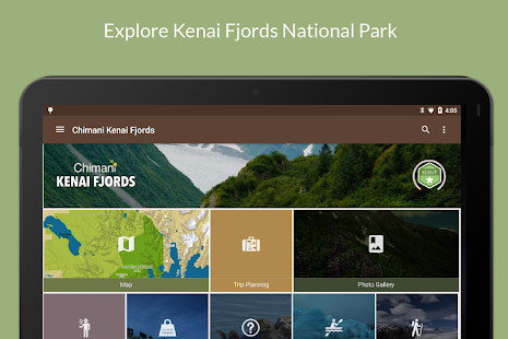 Kenai Fjords NP by Chimani- screenshot thumbnail