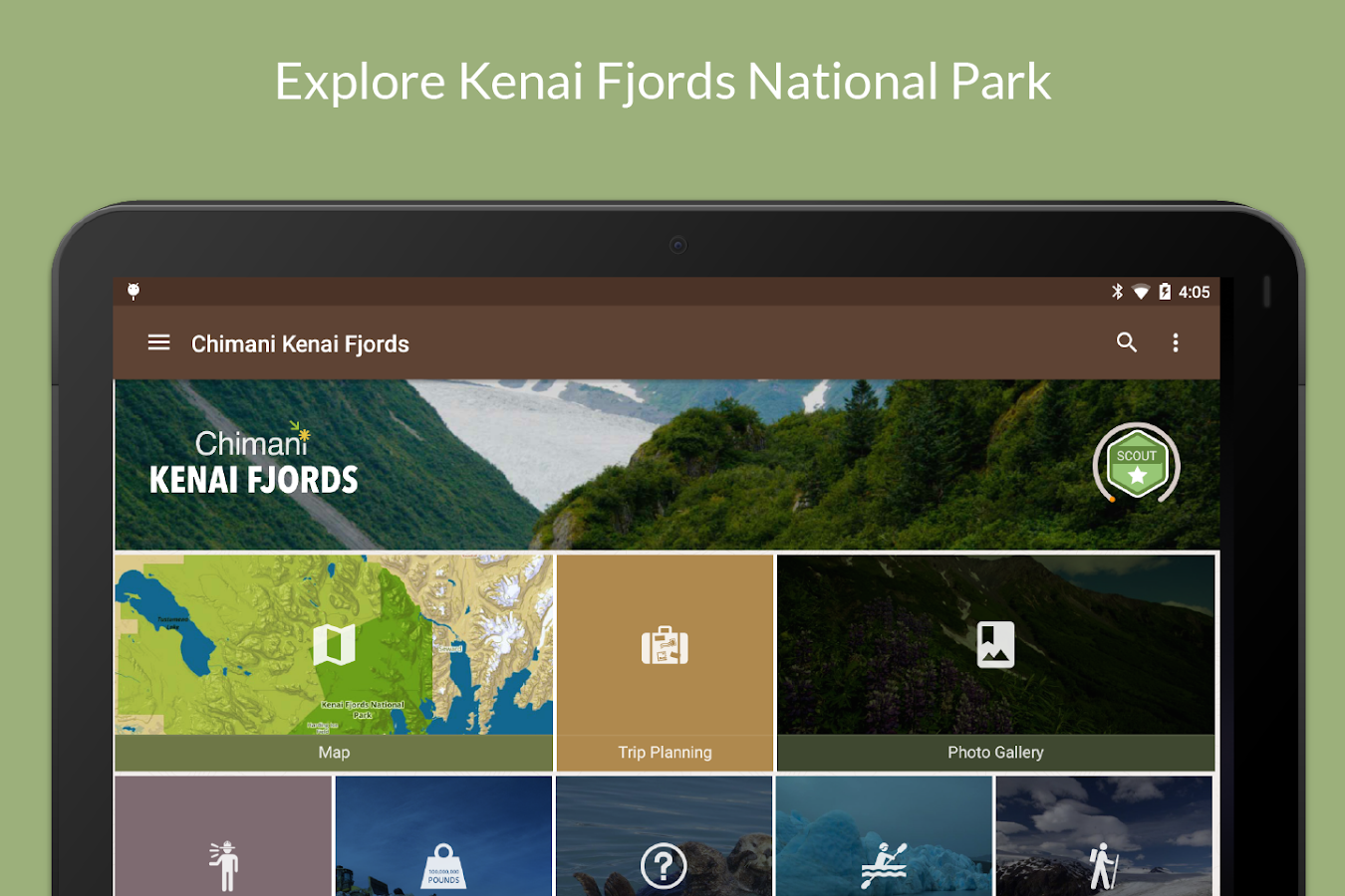 Kenai Fjords NP by Chimani- screenshot