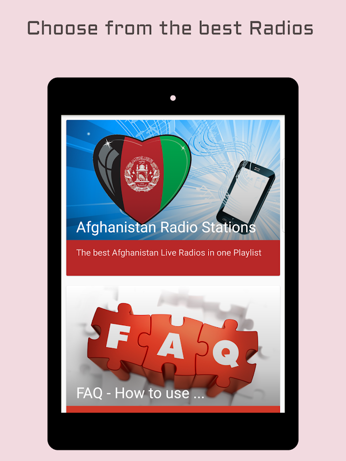 Afghanistan Radio Stations- screenshot