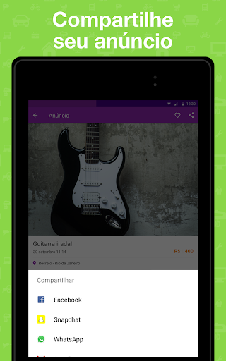 OLX Brasil - Comprar e Vender app (apk) free download for Android/PC/Windows screenshot