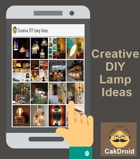 DIY lampa kreativní nápady - náhled