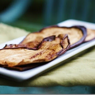 Eggplant Bacon (Raw and Vegan).