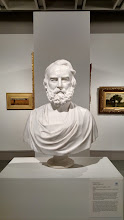 Photo: A bust of Henry Wadsworth Longfellow by Henry Dexter, on display at the Palmer Museum of Art at Penn State.