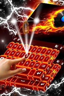 Fire Theme for Keyboard - náhled