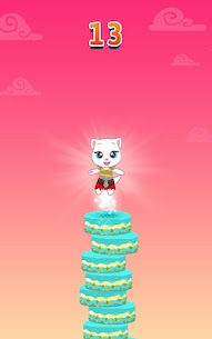 Download Talking Tom Cake Jump Mod Apk (Unlimited Money) for Android 7