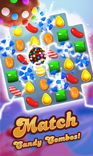 Candy Crush Saga (MOD, Unlimited Money) APK for Android 1