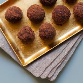 Date Coconut Cacao Nib Truffles