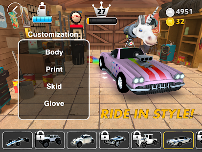Nitro Punch Car Game- screenshot thumbnail