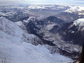 Photo: Les Houches in distance