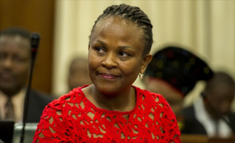 Public Protector Busisiwe Mkhwebane appointed first vice president of the African Ombudsman and Mediators Association (AOMA).