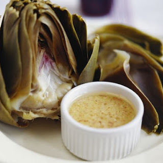 Artichokes with Dip.