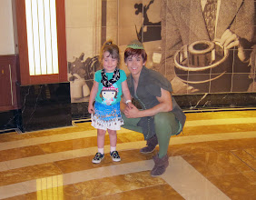 Photo: With Peter Pan on the Disney Dream