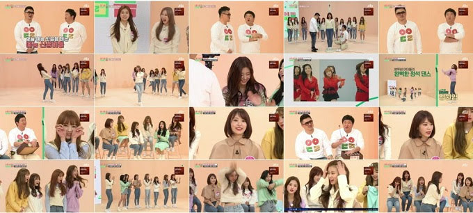 (TV-Variety)(720p) JTBC Idol Room – IZONE 181030