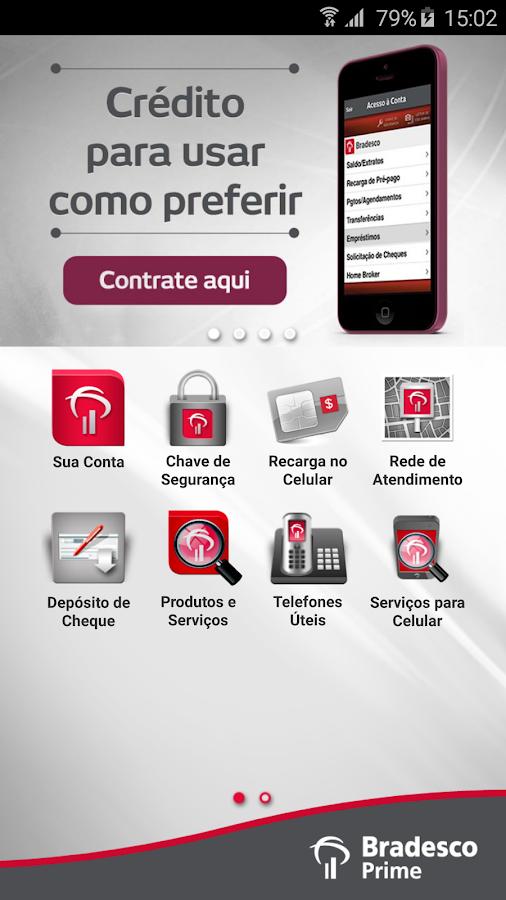 Bradesco Prime- screenshot