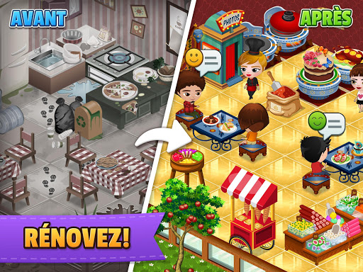 Télécharger Cafeland - Jeu de Restauration APK MOD (Astuce) screenshots 1