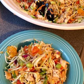 Crunchy Rainbow Ramen Salad