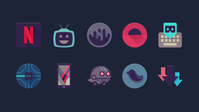 Viral – Free Icon Pack v1.5 [Unlocked]