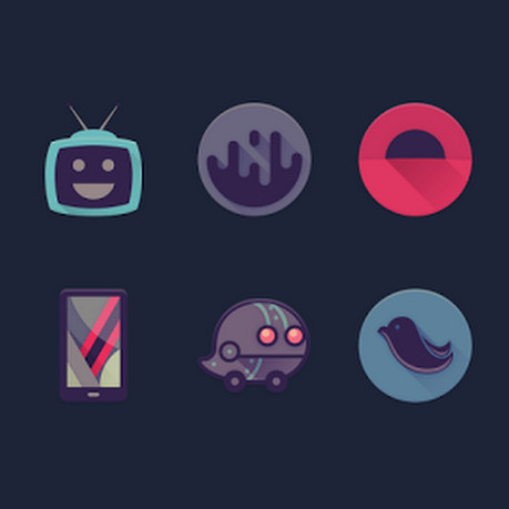 Viral - Free Icon Pack v1.52 [Unlocked]