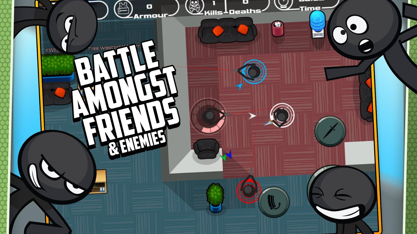 Stick fighting online battle android apps on google play