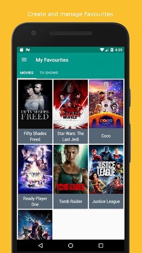 Movie & TV Listings – Recommendations & Reviews v1.9 screenshots 7