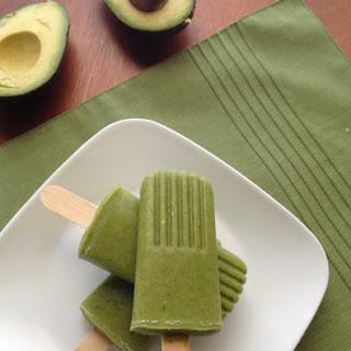 Green Monster Ice Pops Recipe