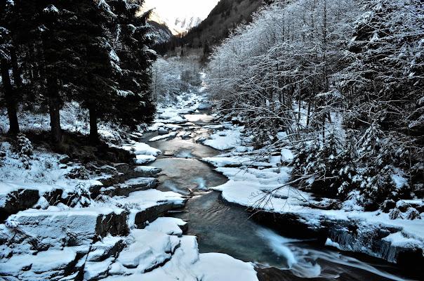 Il fiume tra la neve di aless78