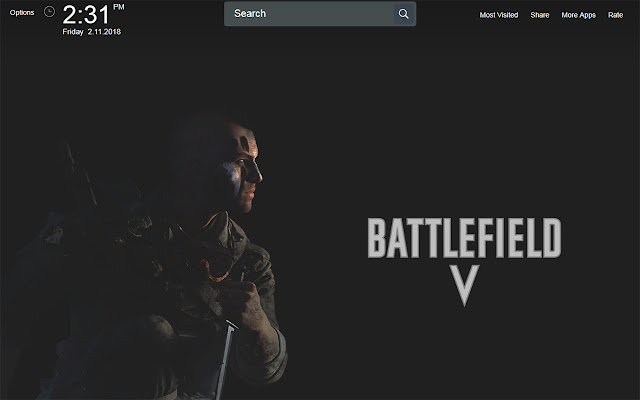 Battlefield V Wallpapers Theme New Tab