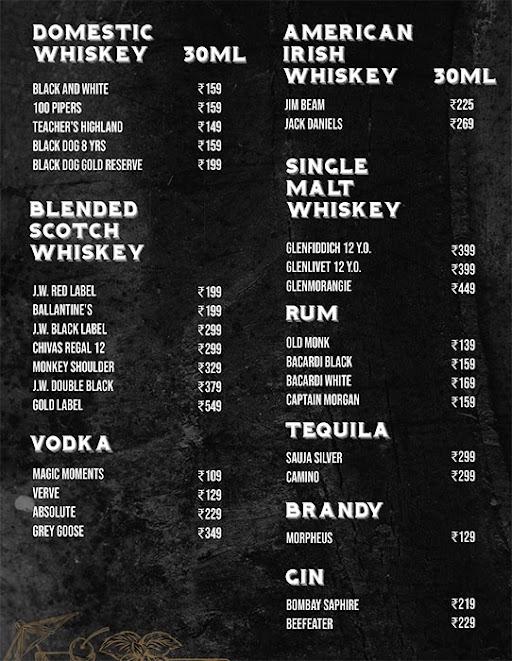 736 A.D menu 6