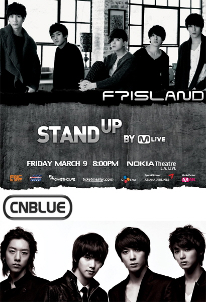 cnblue-ftisland-la-poster