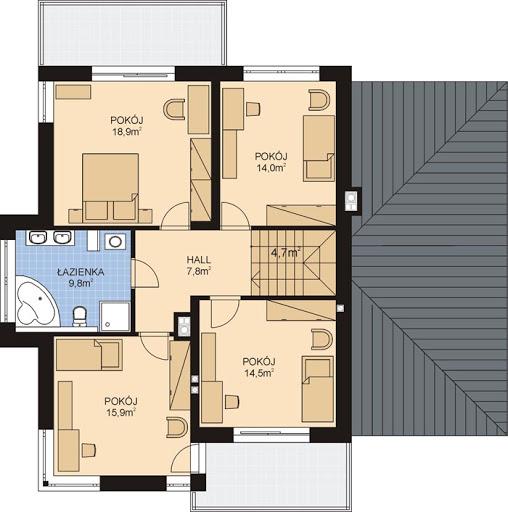 APS 274 - Rzut piętra