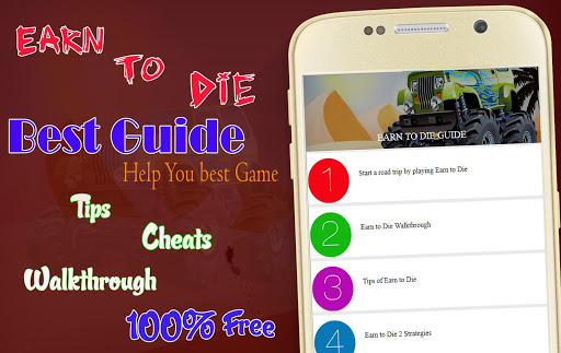 Guide for Earn to Die
